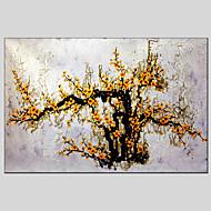 Ručně malované Květinový/Botanický motiv Tradiční / Realismus / Středomoří / Pastýřský / evropský styl / Moderní / Klasický,Jeden panel