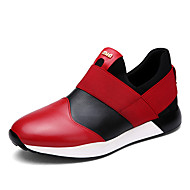 Men's Shoes Outdoor / Office & Career / Athletic / Casual Nappa Leather Loafers Black / Red