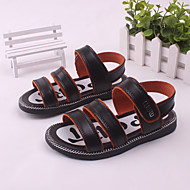 Boy's Sandals Spring / Summer Slingback / Open Toe / Sandals Leather Outdoor / Casual / Athletic Brown / Yellow / White