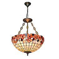 18 inch Retro Tiffany Pendant Lights Shell Shade Living Room Dining Room light Fixture