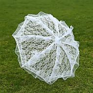 White Lace Wedding Unmbrellas for Bridal Parasols(57cm)