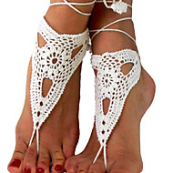Anklet/Bracelet Others Unique Design Adorable Fashion Adjustable Fabric White Women's Jewelry 1 pair