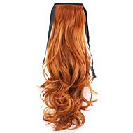 """המפעל 50 ס""""מ אורך אדום סוג לאגד מכירה ישירה קוקו שיער סלסול horsetail (צבע 119)"""