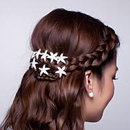 Заколки-пряжки Аксессуары для волос Кристаллы