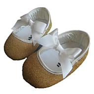 Girl's Flats Spring / Fall Comfort / Round Toe Glitter Outdoor Gold