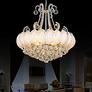 Modern Luxury Chandeliers Crystal Living Room LED Pendant Lights Diameter 50CM Gold Or Silver
