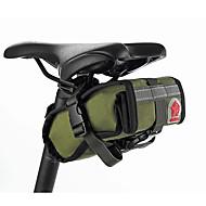 ROSWHEEL® CykeltaskeSadeltasker Vandtæt / Stødsikker / Påførelig / Multifunktionel Cykeltaske Canvas / Klæde Cykeltaske Cykling 15*8*9