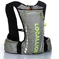 Pyöräily Reppu Backpack varten Vapaa-ajan urheilu Matkailu Juoksu UrheilulaukutHeijastava raita Käytettävä Monitoiminen Lukien