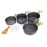 AOTU Aluminium Alloy Bowl / Camping Eating Utensil Set / Cookware Set / Cup / Pan / Pot / Spoon / Stove Accessories Others Sets