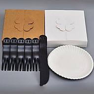 jednorázové koláč příbory patrové soupravy (1knife 5forks 5 disk)