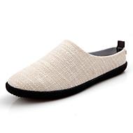 Alkalmi Férfi cipő Szövet Papucsok & Balerinacipők Kék / Bézs / Khaki