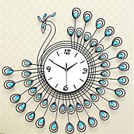 Rund Moderne / Nutidig Wall Clock,Andre Metall 70*70*7