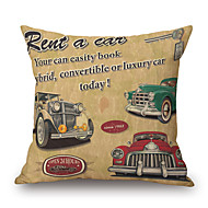 Cotton/Linen Pillow Cover,Novelty / Graphic Prints / Quotes & Sayings Outdoor / Modern/Contemporary / Casual