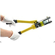 銅とアルミニウムの端子圧着ペンチはyqk-300手動油圧式圧着工具のハードウェアハンドツールをクランプ