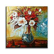 Ručně malované Zátiší olejomalby,Moderní / Klasický / Tradiční / Realismus / Středomoří / Pastýřský / evropský styl / Styl Jeden panel