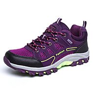 Women's Spring Comfort Tulle Athletic Flat Heel Purple / Fuchsia Hiking