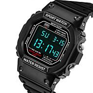 SANDA® Men's Fashion Rectangle Digital LCD Screen Waterproof Sport Watch Fashion Wrist Watch Cool Watch