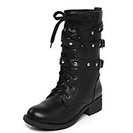 Women's Boots Winter PU Casual Low Heel Others Black