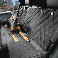 Σκύλος Κάλυμμα Καθίσματος Αυτοκινήτου Κατοικίδια Αντικείμενα μεταφοράς Αδιάβροχη / Φορητό Μαύρο Βαμβάκι