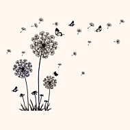 חיות / בוטניקה / דוממים / אופנה / פרחים / וינטג' / נופש מדבקות קיר מדבקות קיר מטוס מדבקות קיר דקורטיביות / מדבקות למקרר,PVC חוֹמֶרניתן