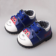 Boy's Flats Spring Fall First Walkers Leather Dress Casual Others Blue Yellow Red
