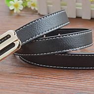 Girls / Boys Belts,All Seasons Faux Leather Black / Blue / Red