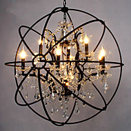 Otok Light ,  Traditional/Classic Painting svojstvo for Crystal Metal Living Room Game Room
