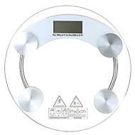 Přesný hubnutí zdravé tělo skleněná stupnice elektronické váhy