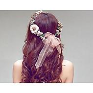 Damen Harz / Plastik Kopfschmuck-Hochzeit Stirnbänder 1 Stück