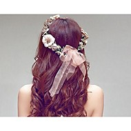 Mulheres Resina / Plástico Capacete-Casamento Bandanas 1 Peça