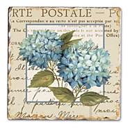 Květiny a rostliny / Klidný život / Fantazie Tisky v rámu / Set v rámu Wall Art,Dřevo Materiál Černá Včetně pasparty s rámem For Home