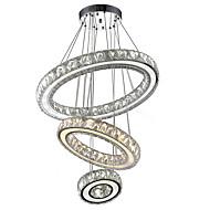 Kroonluchters ,  Hedendaags Galvanisch verzilveren Kenmerk for Kristal LED MetaalWoonkamer Slaapkamer Eetkamer Keuken