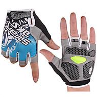 스포츠 자전거/싸이클링 장갑 여성의 / 남성의 / 남녀 공용 착용 가능한 / 초경량 패브릭 / 3D 패드 / 충격방지 LYCRA® 옐로우 / 레드 / 블루 M / L / XL 사이클링/자전거 봄 / 여름 / 가을