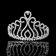 Dame Rhinsten Medaljon-Bryllup / Speciel Lejlighed Diademer 1 Stykke