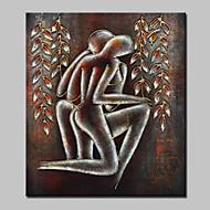 Hånd-malede Nøgen Oliemalerier,Moderne Et Panel Canvas Hang-Painted Oliemaleri For Hjem Dekoration