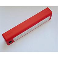 72led arbeidslampe rød blå svart 24 + 3led beltekroken reparasjon lys bil arbeidslys