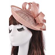 נשים / נערת פרחים פשתן כיסוי ראש-חתונה / אירוע מיוחד קישוטי שיער חלק 1 25*25*11cm