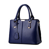 Women Cowhide Formal / Office & Career Tote Multi-color
