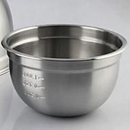Stainless Steel Salad Bowl Basin Seasoning Bowl Fruit Serving Bowl Egg Mixing Bowl
