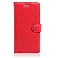のために Asusケース カードホルダー / スタンド付き / フリップ ケース フルボディー ケース ソリッドカラー ハード PUレザー AsusAsus ZenFone Max ZC550KL / Asus ZenFone GO ZC451TG / Asus