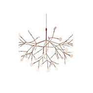 KWB 30 LED Innovation Firefly Pendant Light Modern Northern Europe Modern Creative Snowflake Tree Leaf Pendant Lamps