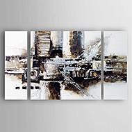 Ručně malované Abstraktní Moderní,Tři panely Plátno Hang-malované olejomalba