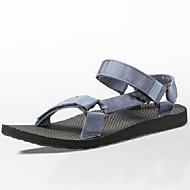 Men's Shoes  Athletic Sandals Outdoor / Athletic Upstream shoes Flat Heel Hook & Loop / Braided Strap Blue
