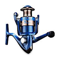 Molinetes Rotativos 5.1/1 5 Rolamentos Trocável Isco de Arremesso / Pesca Geral-NL4000 Other