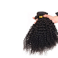 7A Mongolian Kinky Curly Hair 3 Bundles Natural Black 100% Afro Human Brazilian Curly Virgin Hair