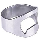 5kom pivo prsten otvarač za boce od nehrđajućeg čelika prst palac keyring luč