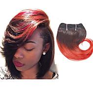 Ombre Włosy brazylijskie Falowana 3 miesiące 4 elementy sploty włosów