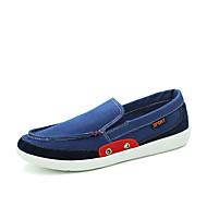 Alkalmi Férfi cipő Szövet Lapos Kék / Zöld / Szürke / Tengerészkék