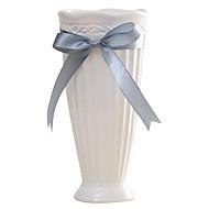 Modern Style Home Decoration White Ceramic Vase