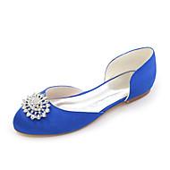 שטוחות - נשים - נעלי חתונה - מעוגל - חתונה / מסיבה וערב - שחור / כחול / ורוד / סגול / שנהב / לבן / כסוף